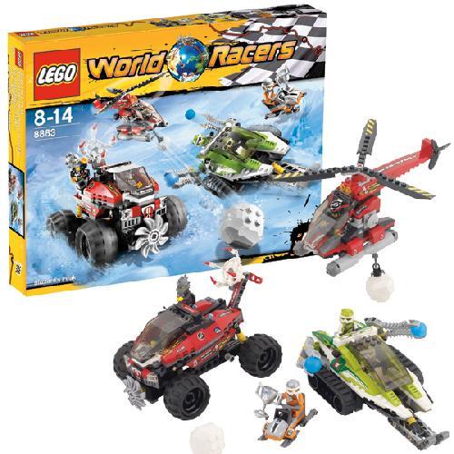 Lego 8863 World Racers Blizzard's Peak (Ir Uz Vietas) nopirkt ...