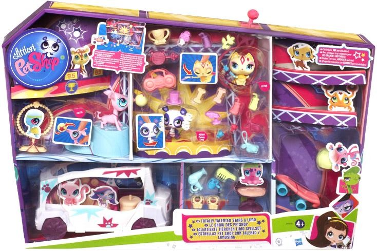 HASBRO Littlest Pet Shop A0410 tatally talented stars & LIMO (Ir Uz Vietas)