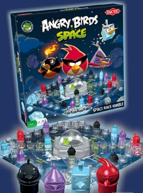 TACTIC Angry Birds Riču Raču 40590