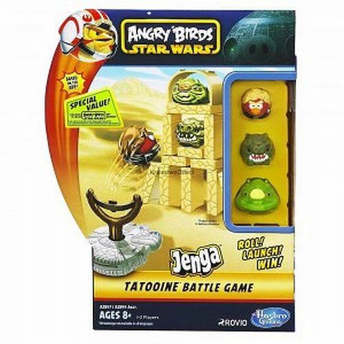 A2847 / A2844 Galda spēle Angry Birds Star Wars Jenga TATOOINE (Ir Uz Vietas)