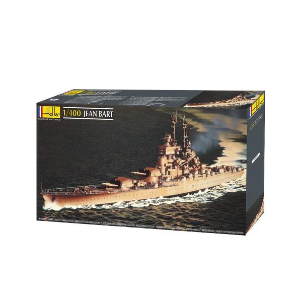 (Ir Uz Vietas) Heller Līmējamais modelis 81077 Kuģis - Jean Bart 1:400