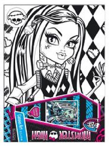 Mattel/Tactic/Hasbro () Monster High 6611 Gleznošana Frankie Stein (23cmX30cm)  10.00