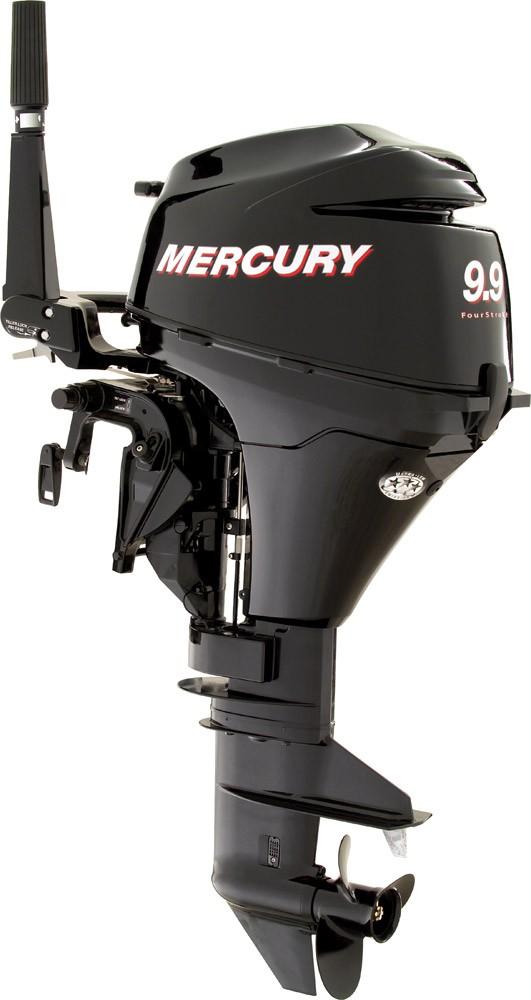 4-taktu dzinējs Mercury F9.9 ML / F9.9 EL