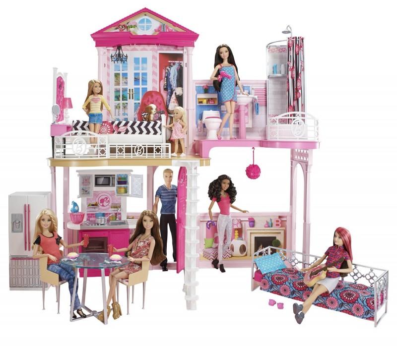 DPY39  Barbie Rainbow Castle Leļļu māja - Pils MATTEL