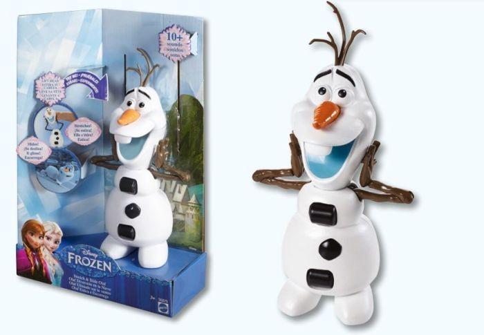 B5170 / B5169 Hasbro Frozen Lelle Ledus sirds ELZA