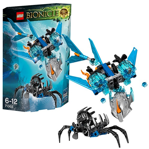 71302 LEGO Bionicle Akida - Creature of Water, no 6 līdz 12 gadiem NEW 2016!