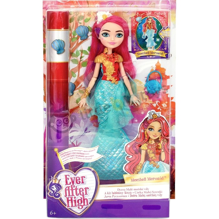 DHF96 / DRM05  Ever After High Meeshell Mermaid Doll MATTEL