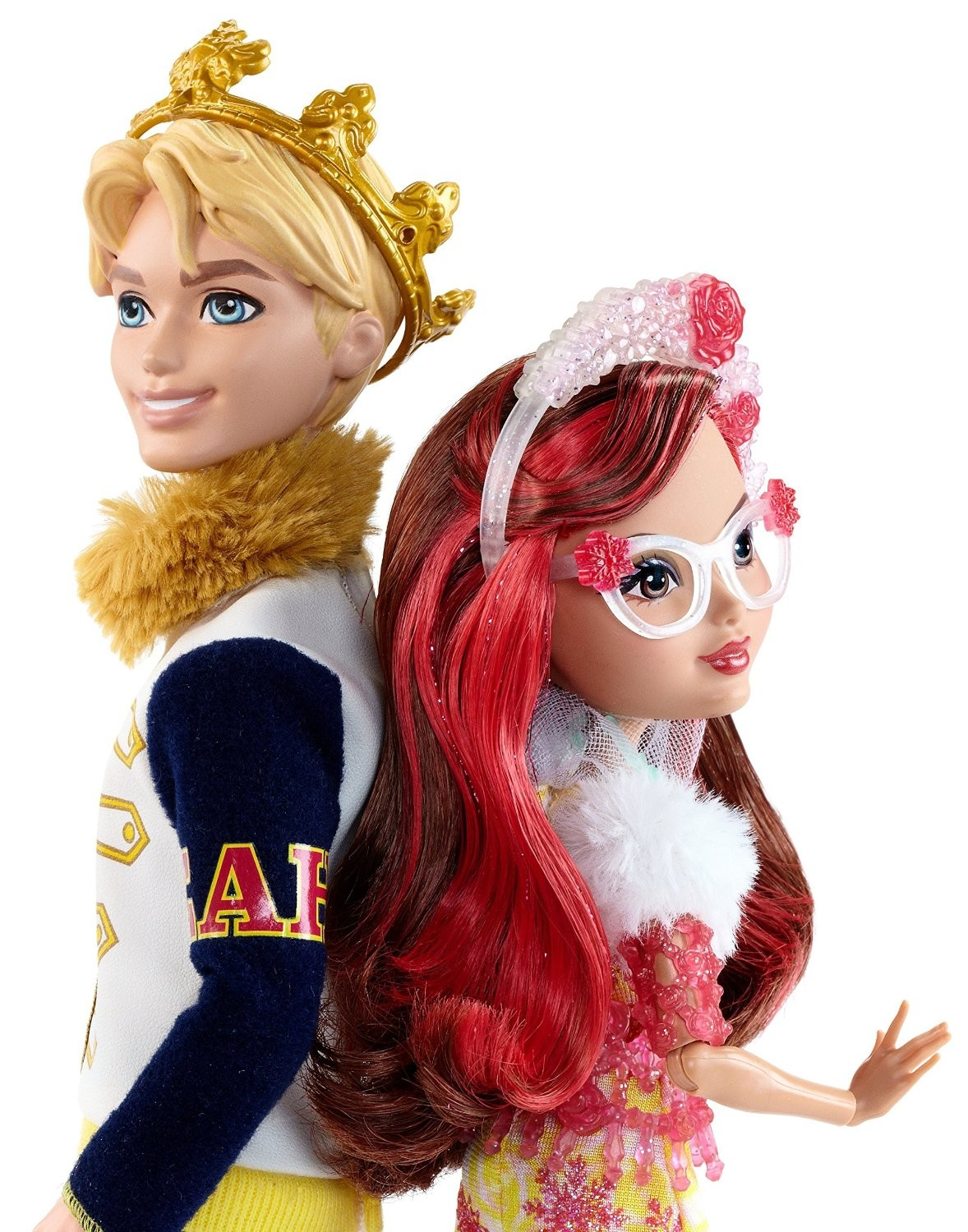 DLB38 Ever After High Epic Winter 2 Pack, Daring Charming and Rosabella Beauty Dolls