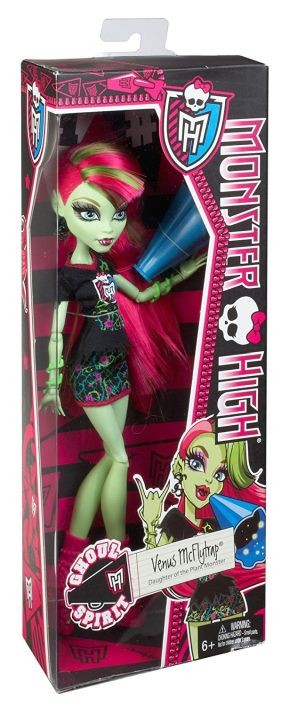 DVH72 Monster High Electrified Voltage Frankie Stein Doll MATTEL