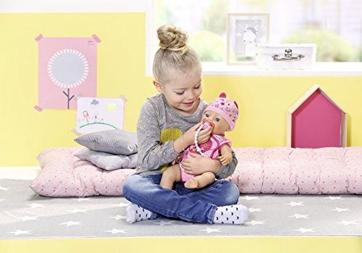 BABY BORN 822005 INTERAKTĪVĀ LELLE-MAZULE Zapf Creation BABY Born Interactive Doll