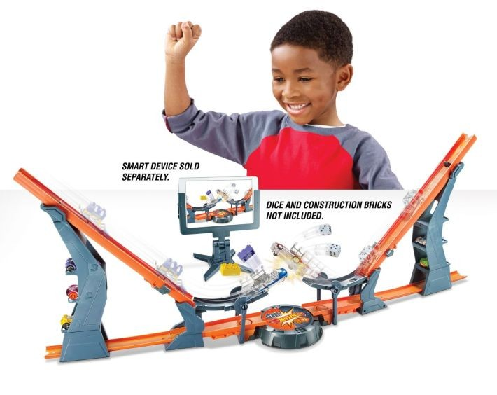 DHY25 Hot Wheels Versus Track Set MATTEL