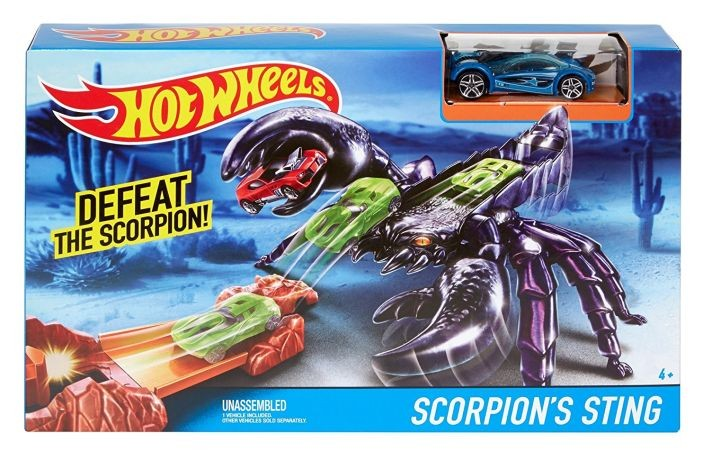 DWK97 / DWK94 Hot Wheels Scorpions Sting Track Set MATTEL