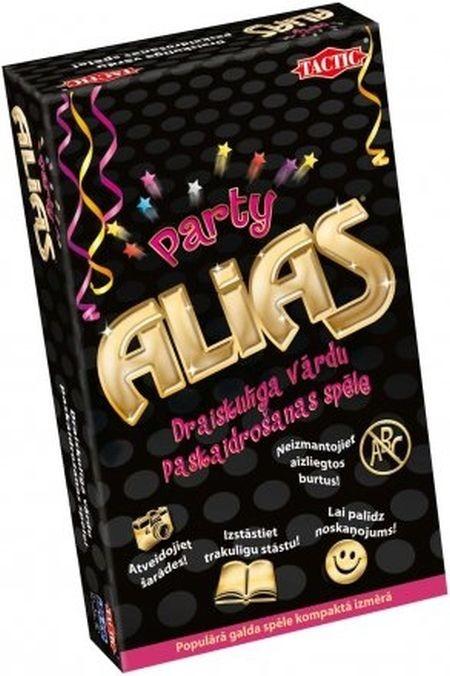 53243 Tactic Spēle Alias Party, ceļojumu versija, latviešu val.