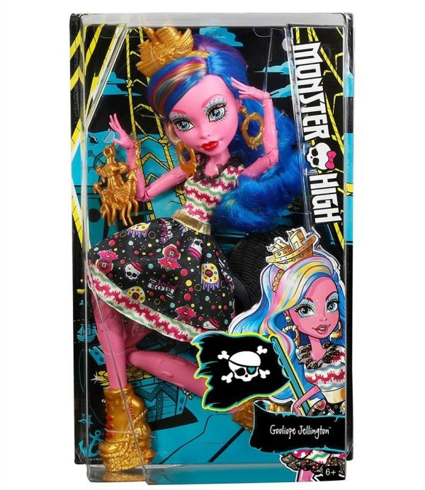DPH48 Monster High - Skelita Calaveras  Collector Lelle