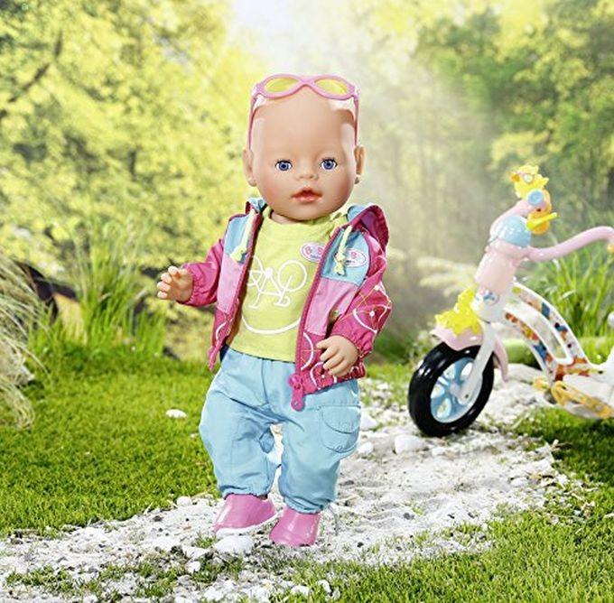 BABY BORN 822005 INTERAKTĪVĀ LELLE ir uz vietas MAZULE Zapf Creation BABY Born Interactive Doll