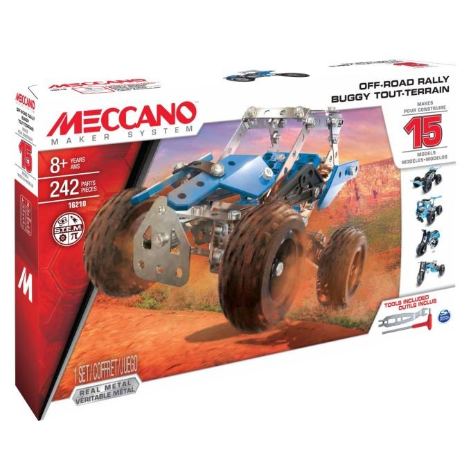 17202 MECCANO 5 In 1 Motorcycles Construction Set