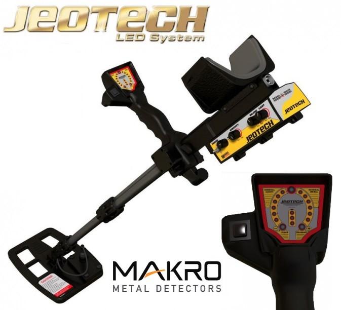 Metāla detektors Makro Racer 2 (11000511) + DĀVANAS