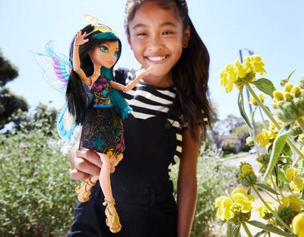 FCV55 / FCV51 Monster High Garden Ghouls Wings Toralei Doll