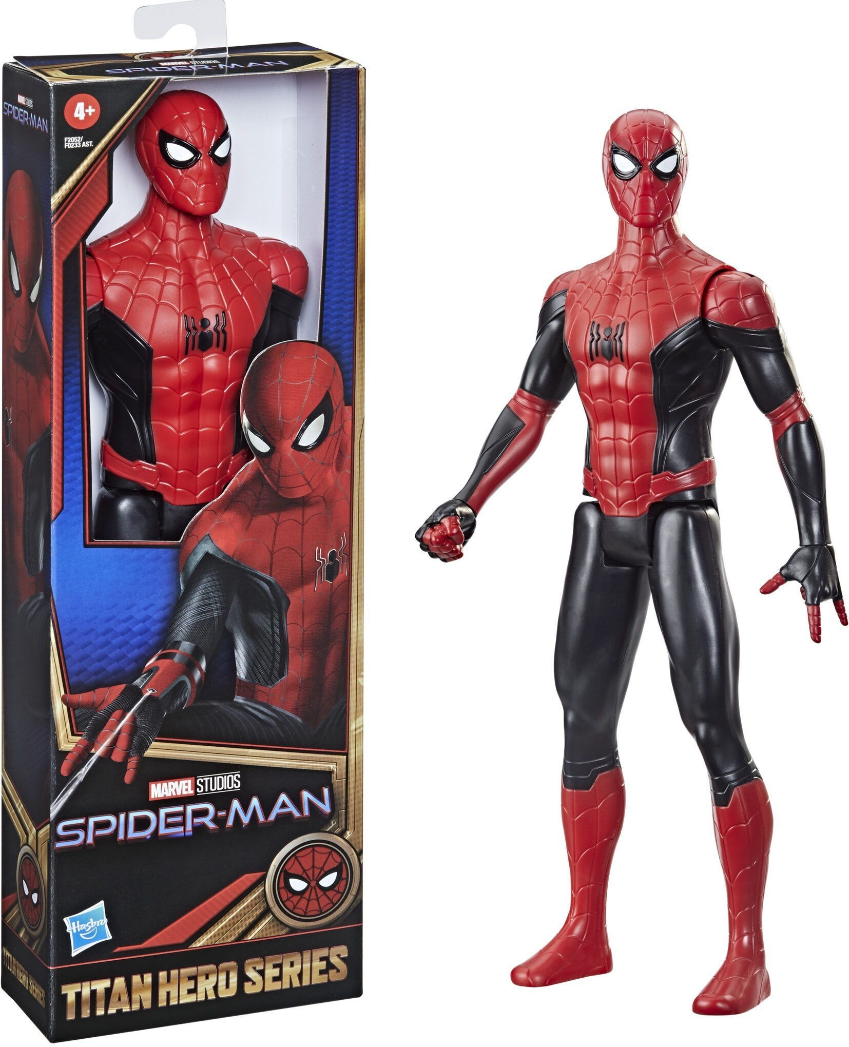 B6609 / B5790 Spider-Man Marvel Titan Hero Series Spider-Man Figure 30cm