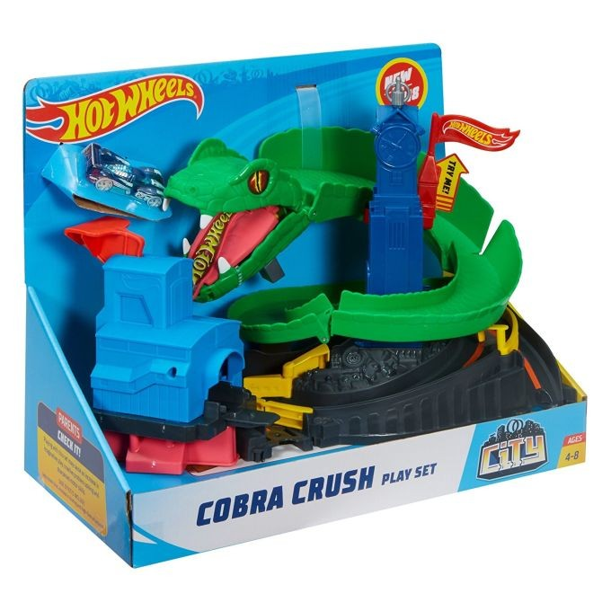 DWK96 / DWK94 Hot Wheels Crocodile Crunch Track Set MATTEL