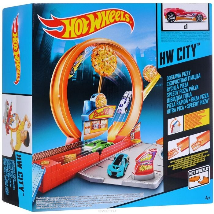 BBY91 / BBY78 Mattel Hot Wheels Mutant Machine City Attack