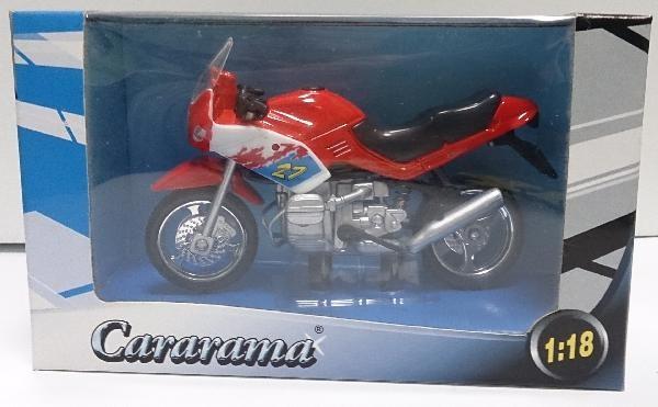 (Ir Uz Vietas) Cararama motocikls 1:18