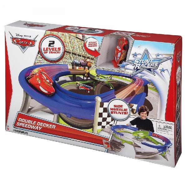 Y0276 Hot Wheels Super Track Pack Playset with 2 Cars NEW