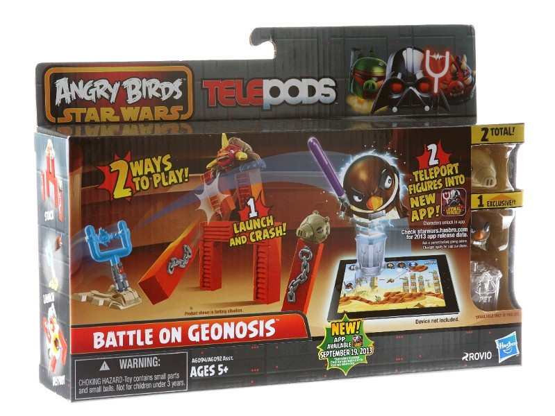 Hasbro Galda spēle Angry Birds Telepods A6030 PIG ROCK RACEWAY