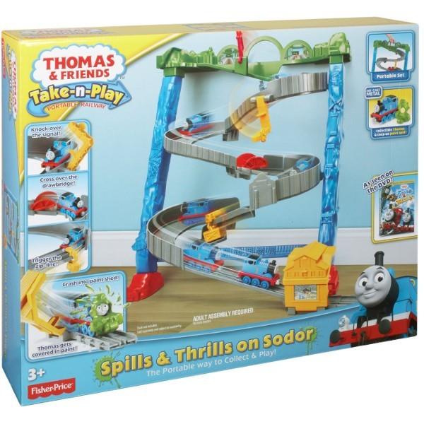 (Ir Uz Vietas) Fisher Price BCX21 THOMAS & FRIENDS Dzelzceļa stacija