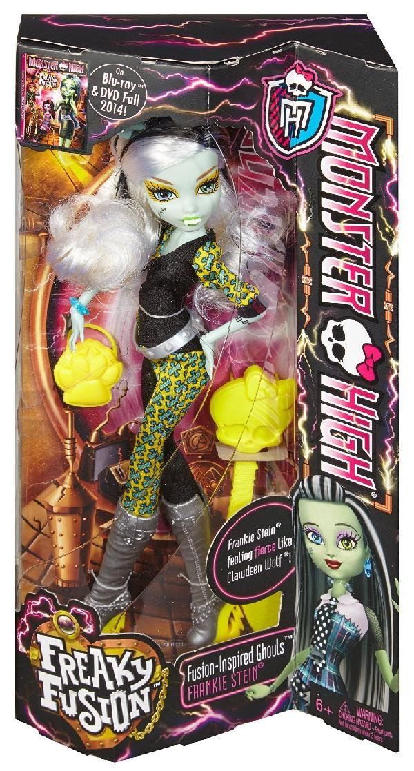 Mattel/Tactic/Hasbro () Monster High Lelle Freaky Fusion Frankie Stein CBP34 / CBP35  18.98