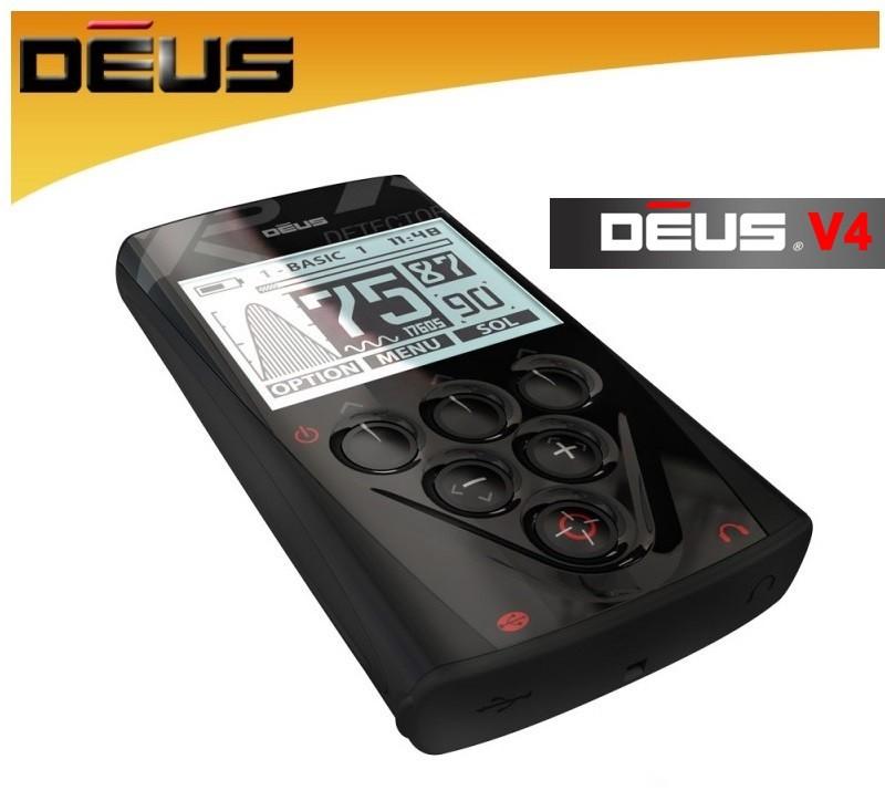 Xp Deus V4.0 2018 RC (Ir Uz Vietas) Metalldetektor D08