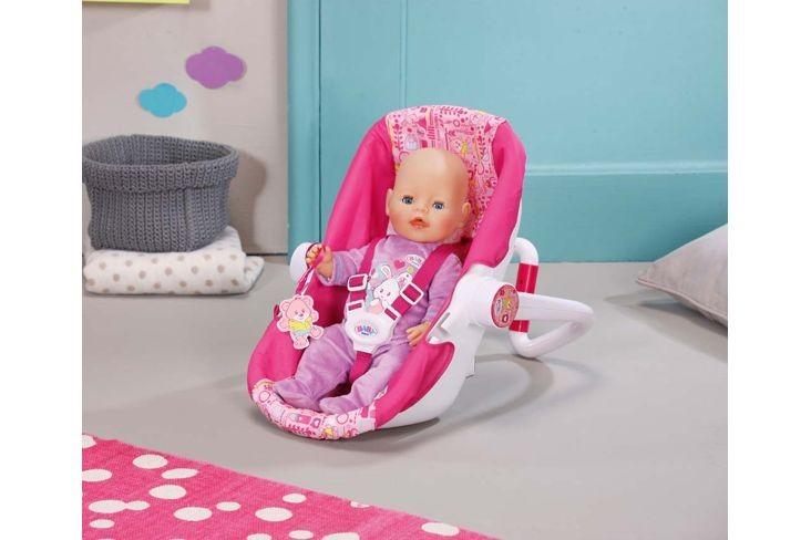 Как сделать автокресло для куклы беби бон своими руками