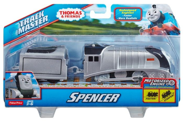 BDP21 / BDP35 Fisher-Price Thomas The Train - TrackMaster Motorized Spencer Engine