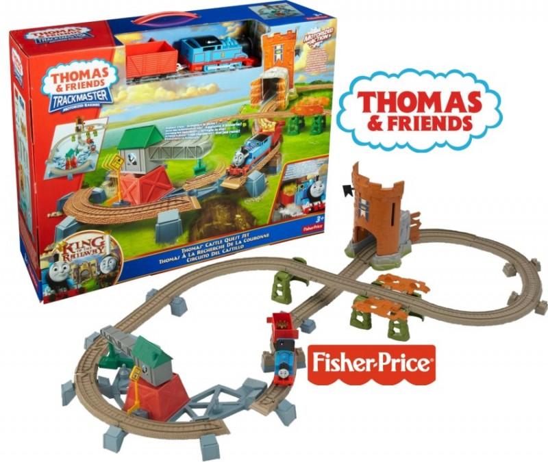 THOMAS & FRIENDS TRACKMASTER Thomas Castle Quest Set Y3418