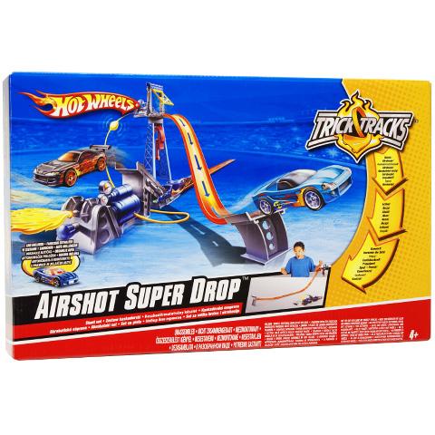 HOT WHEELS trase N4728 AIRSHOT SUPER DROP TRICK TRACKS