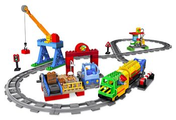 Lego Duplo Поезда и рельсы