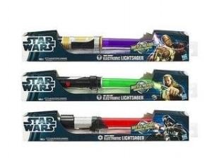 Star Wars hasbro gaismas zobeni jedi un maskas