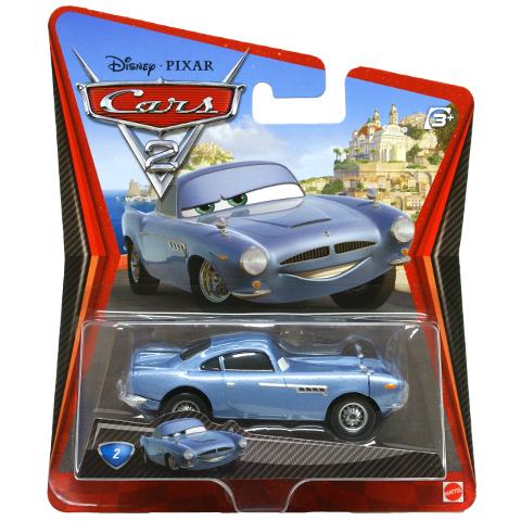 DLY95 / W1938 Disney Cars FINN McMISSILE машинка из фильма Тачки 2