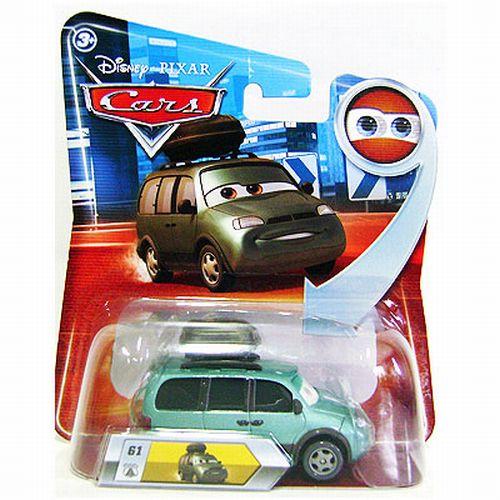 FCW00 Mattel Cars 3 Movie Jackson Storm Trailer Transforming Hauler Playset