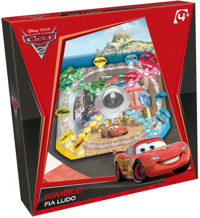 Galda spēle TACTIC 40103 KIMBLE FLA LUDO CARS 2