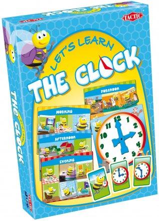 Настольная игра TACTIC 01923 Mācīsimies Pazīt pulksteni (LV)