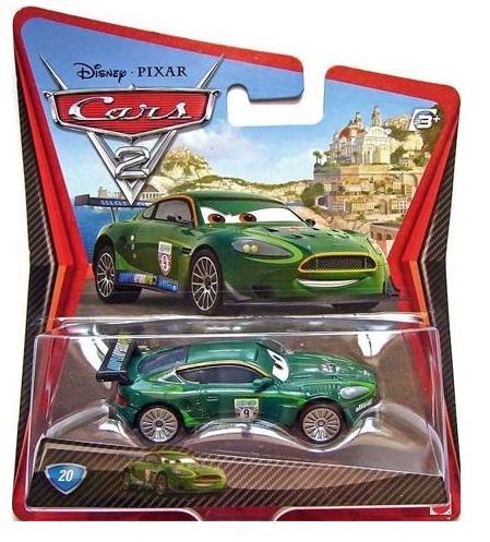 Mattel W1938 / BDX64  Disney Cars NIGEL GEARSLEY машинка из фильма Тачки 2 (Есть в наличии)