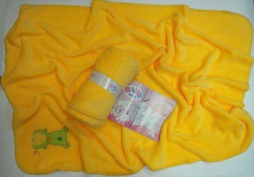 Baby Born dvieļu lelles 75x100 cm dzeltenā krāsa 1 gab. (Ir Uz Vietas)