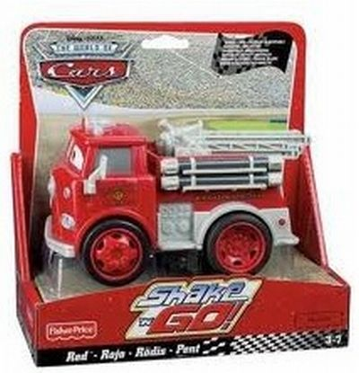 Fisher-Price MATTEL N7815 (N7805) N7809 RED машинка из фильма Тачки 2 (Есть в наличии)