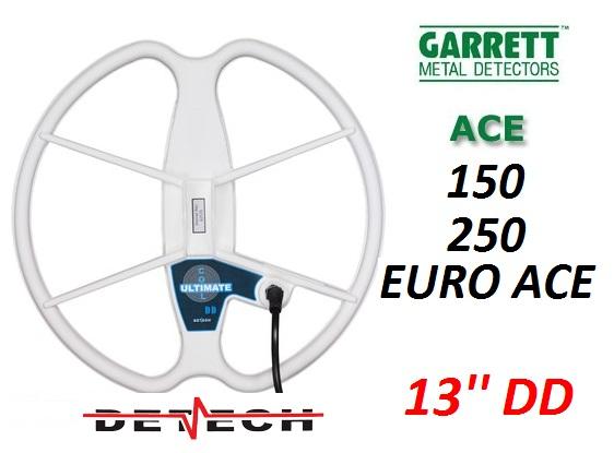 Garrett Spole ACE 150 , 250 , EURO ACE ,  Detech 13 ULTIMATE COIL (Ir Uz Vietas)