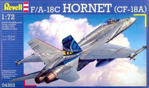 REVELL Līmējamais modelis 04303 F/A-18C Hornet