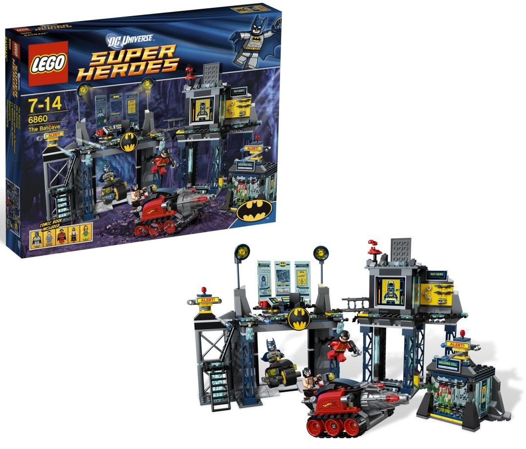 Jaunums 6860 LEGO Super Heroes The Batcave (Ir Uz Vietas)