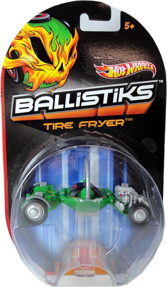 Mattel Hot Wheels X7133 / X7131 Ballistiks TIRE FRYER (Ir Uz Vietas)