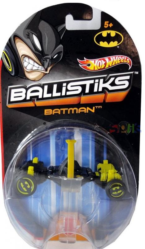 Mattel Hot Wheels X7136 / X7131 Ballistiks BATMAN (Ir Uz Vietas)