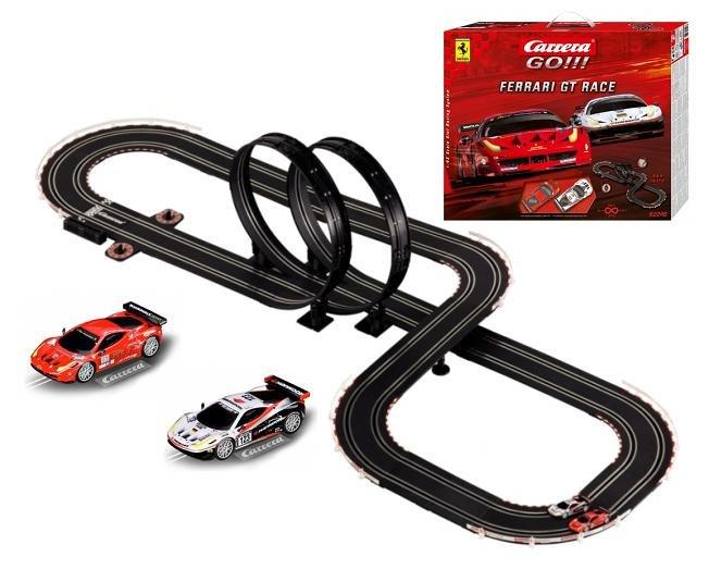 Carrera 62246 / 20062246 auto trase FERRARI GT RACE 1:43 (Ir Uz Vietas)